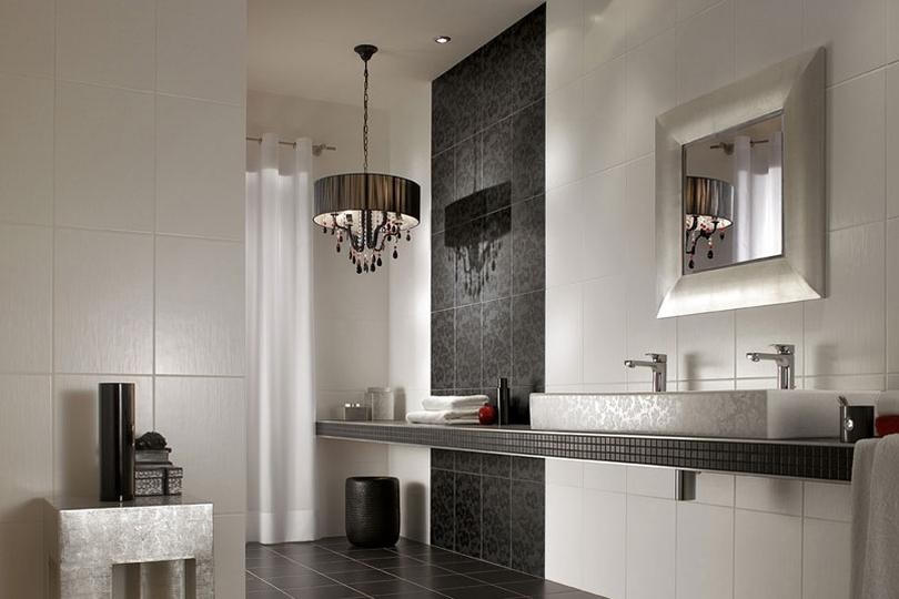 Badkamer Wandtegels Ideeen : Decoratie badkamers: wandtegels voor in de badkamer