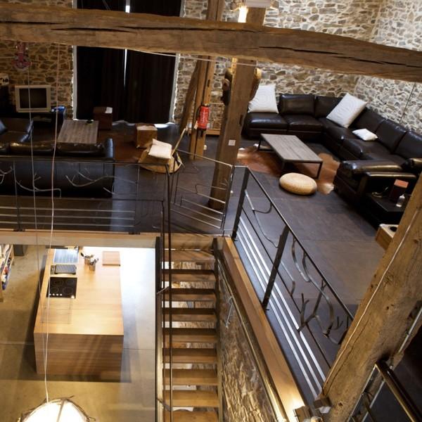 Authentique grange aménagée en style loft - La Roche-en-Ardenne ...