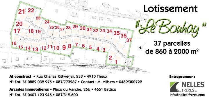 Terrain à bâtirà vendre àStavelot au prixde 58.000 €- (4671821)
