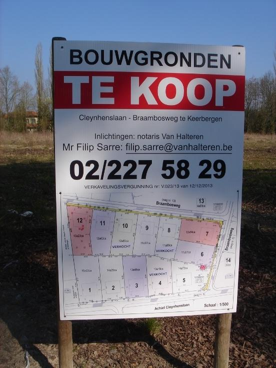 Terrain à bâtirte koop teKeerbergen voor 250.000€ - (5784452)