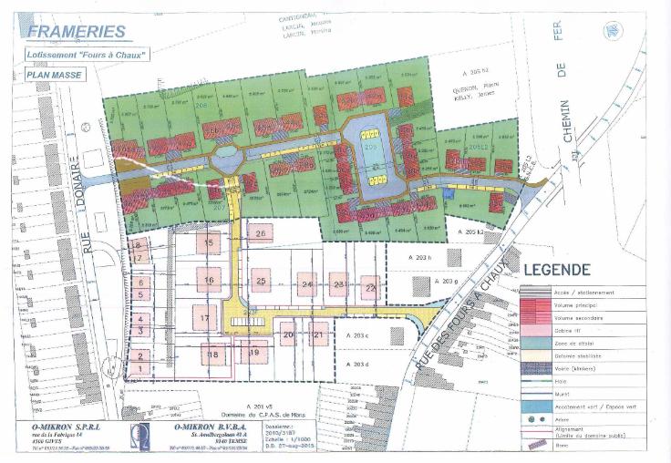 Terrain à bâtirà vendre àFrameries au prixde 46.000 €- (5996822)