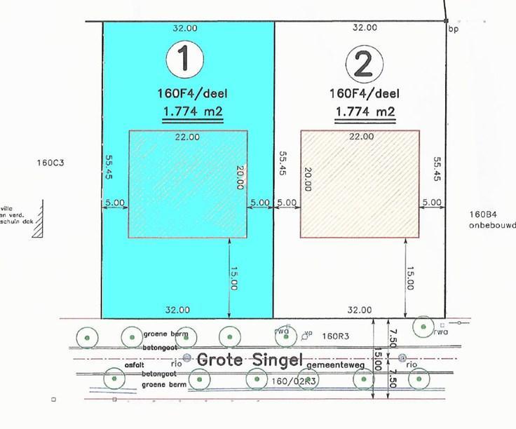 Terrain à bâtirà vendre àSchoten au prixde 375.000 €- (6014732)