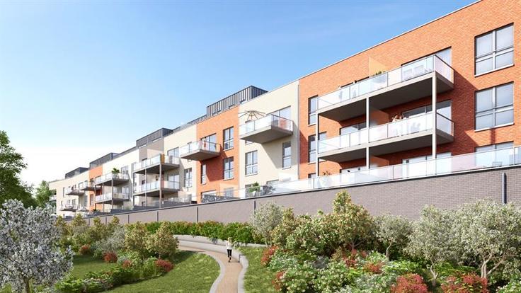 Projet immobilier de3 façades àvendre à Liègeau prix de184.600 à 296.200€ - (6377421)