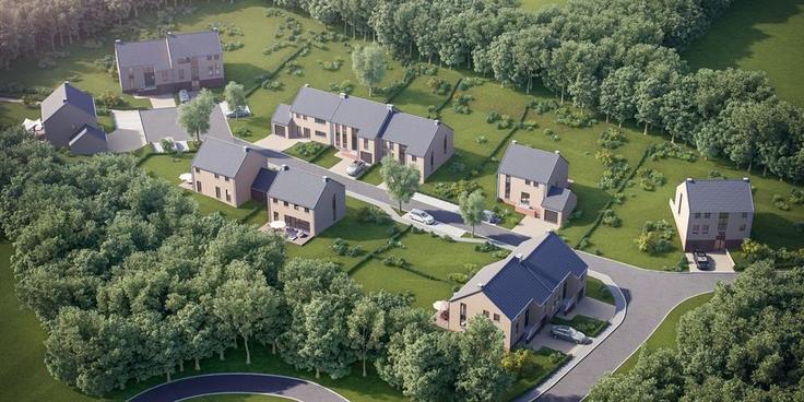 Projet immobilier de4 façades àvendre à Sprimontau prix de238.700 à 310.000€ - (6377544)