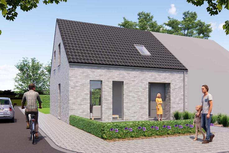 Maison neuve belgique for Maison neuf